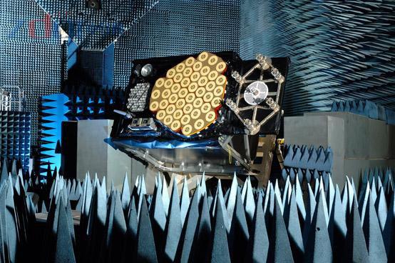 首颗Galileo卫星模型系统集成完并测试