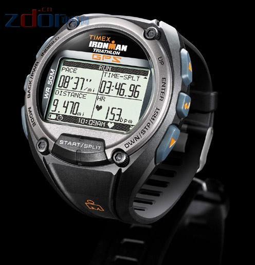 可测量实时速度 Timex新款GPS训练手表