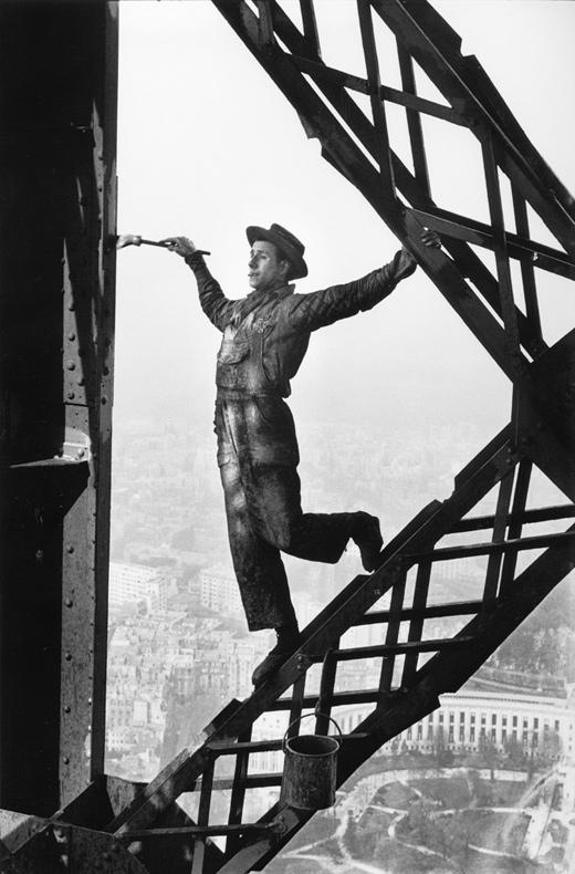 马克·吕布五十年摄影展:直觉的瞬息