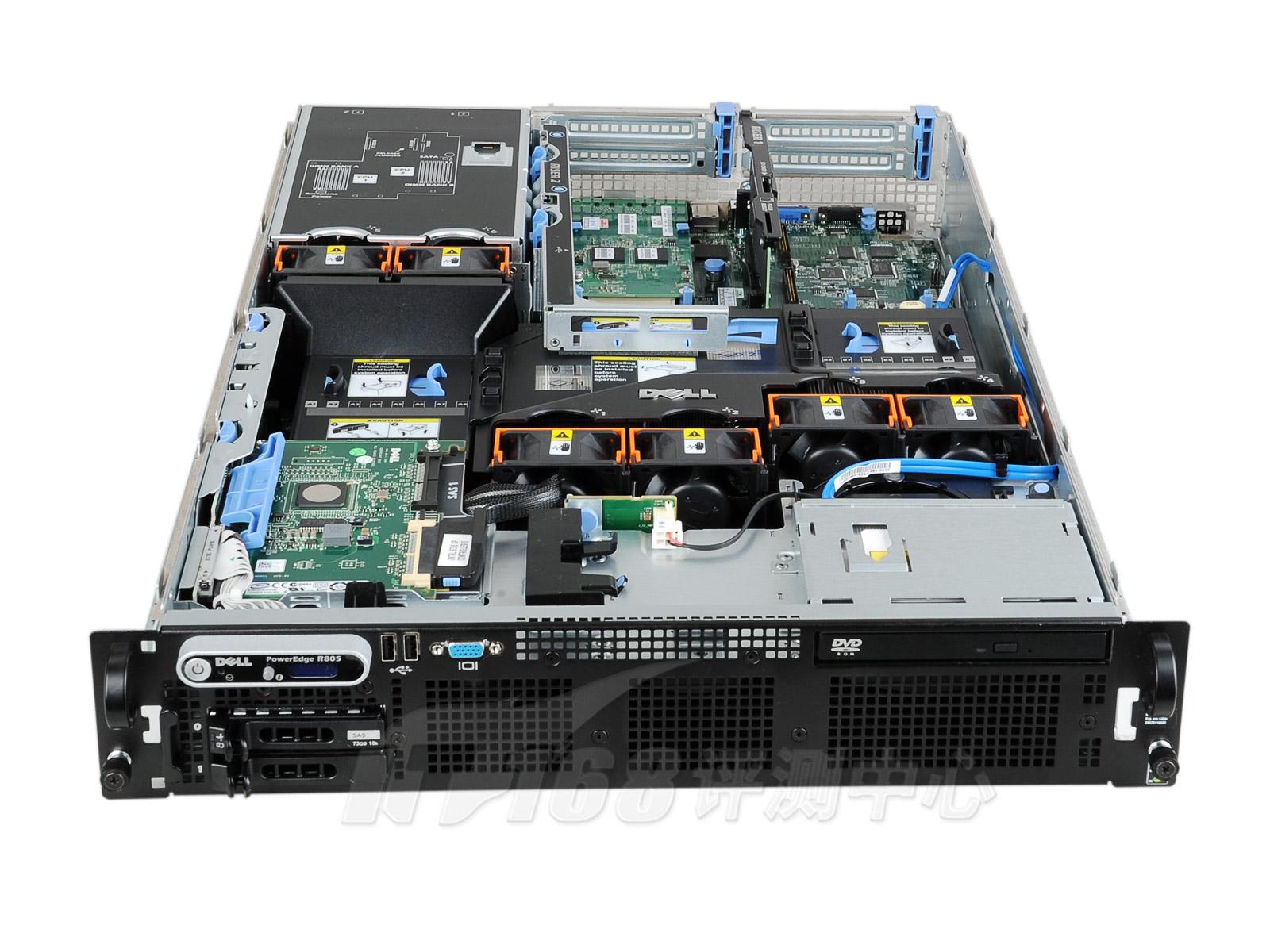 dell pe r805机架服务器评测