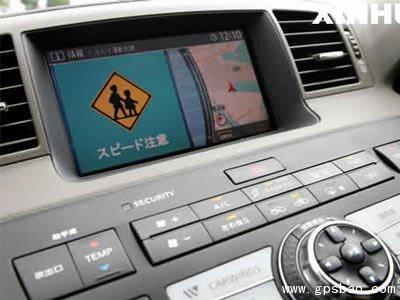 麦士威汽车智能gps导航系统在深圳问世