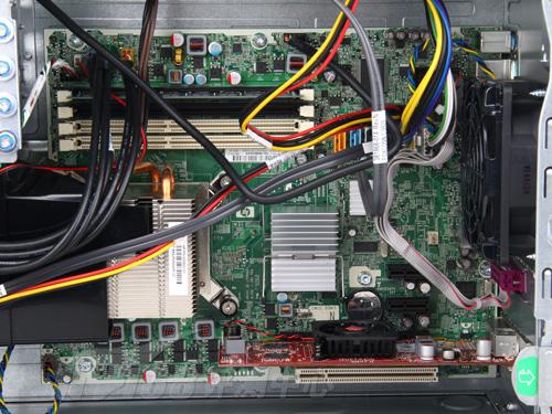 惠普电脑主机内部结构图解