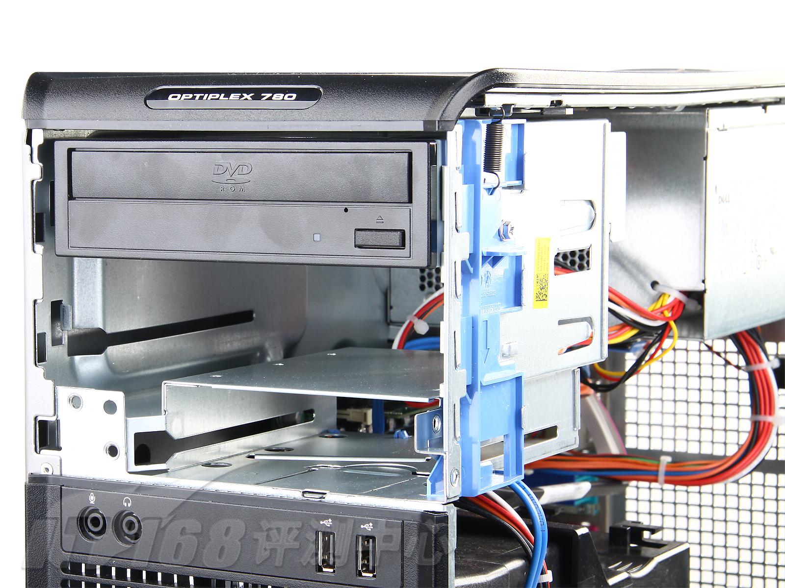 电脑主机外观图解