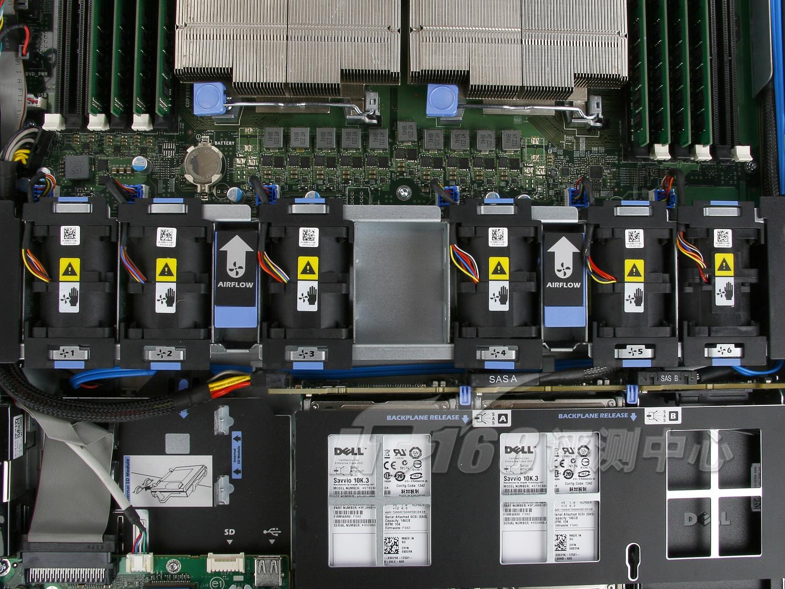 dell最新一代r610服务器:处理器子系统-第十一代