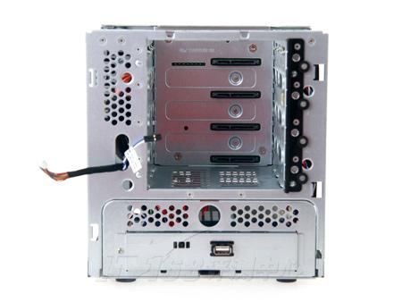 电脑机箱外部结构图 联想