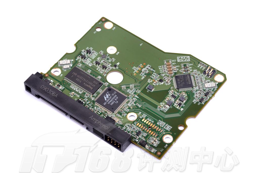 西数硬盘电路板主控芯片