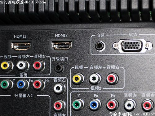 选购指南 正文    接口方面:海信 tlm40v68pk液晶电视配备有音频输入